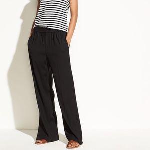 ▪️Vince▪️Ankle zip wide leg pants